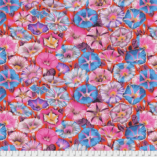 Kaffe Fassett Collective - Philip Jacobs - Variegated Morning Glory - PWPJ0