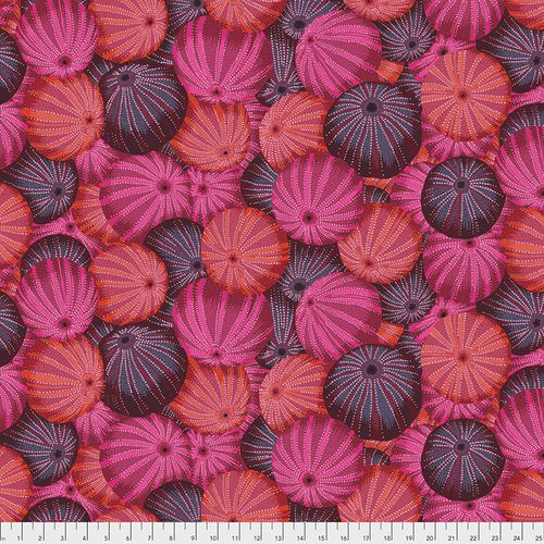 Kaffe Fassett Collective - Philip Jacobs - Sea Urchins - PWPJ100 RED