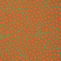 Kaffe Fassett Collective - Brandon Mably - Jumble - PWBM053 TANGERINE
