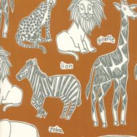 Moda - Safari Life - 'Safari Kingdom' - 20642 17 (Orange)