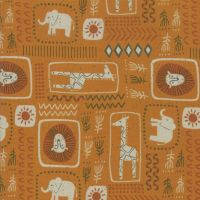 Moda - Safari Life - 'African Print' - 20644 14 (Orange)