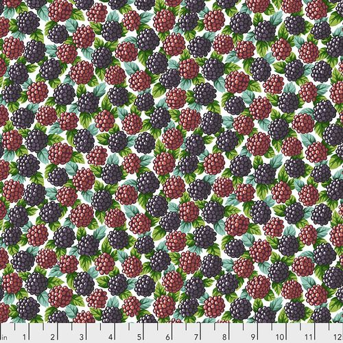 Snow Leopard Designs - Blackberries - PWSL077 Natural