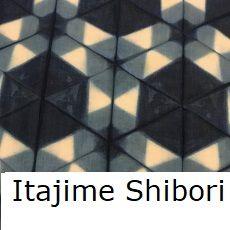 Itajime Shibori