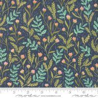 Moda - Goldenrod - Meadow Floral - No. 36051-12 (Navy)
