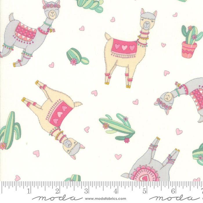 Moda - Llama Love - Snowy White - No. 19921 11 (White)