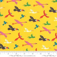 Moda - Bicycle Bunch - Birds - 35333 13 (Banana)
