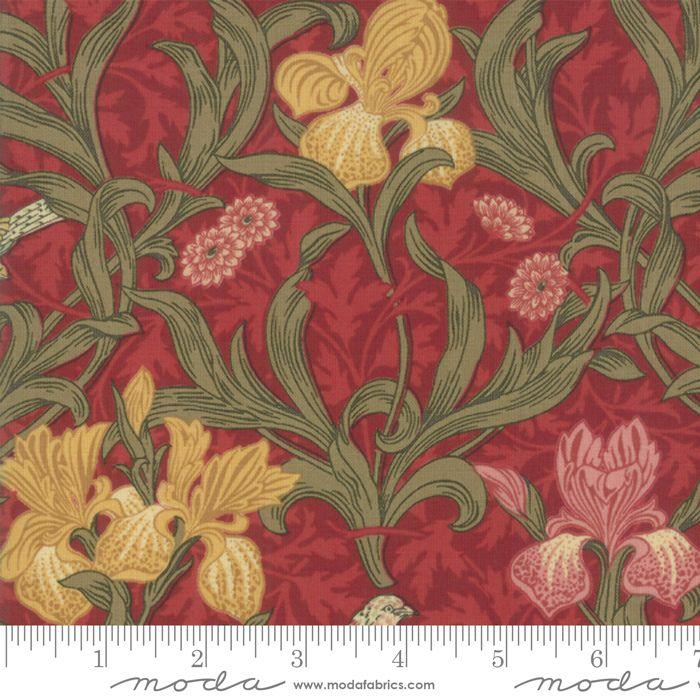 Moda - May Morris Studio - Crimson - No. 7340 13 (Red)