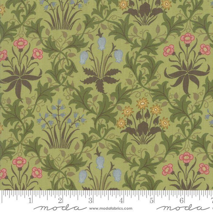 Moda - May Morris Studio - Sage - No. 7341 14 (Light Green)
