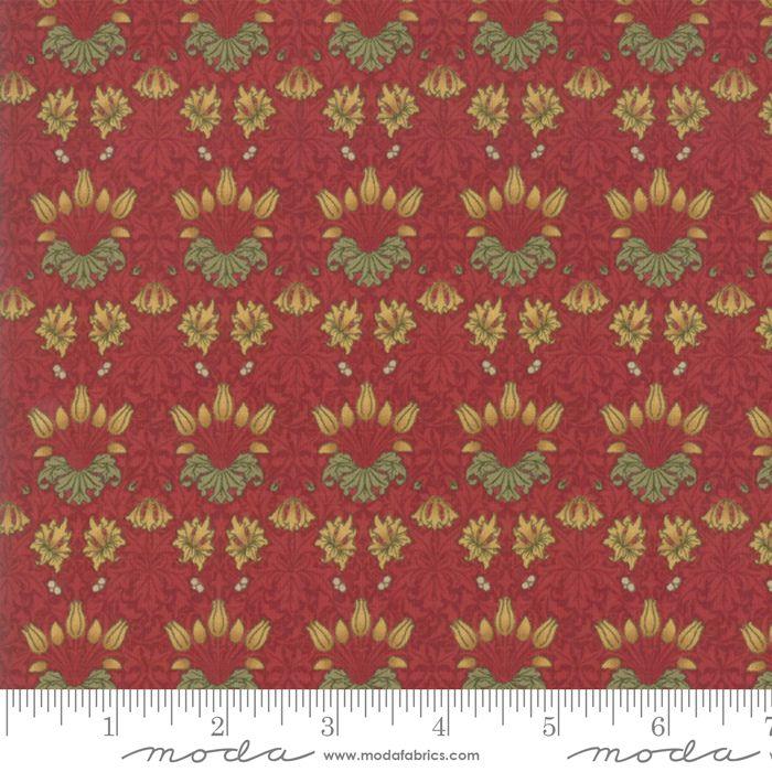 Moda - May Morris Studio - Crimson - No. 7342 13 (Red)