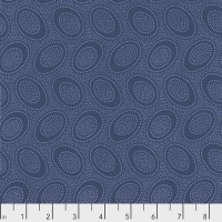 Kaffe Fassett Collective - Aboriginal Dot - Denim - PWGP071.DENIM