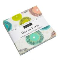 Moda - Day in Paris - Charm Pack