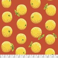 Oranges - Yellow - PWGP177.YELLOW - Kaffe Fassett Collective