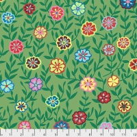 Busy Lizzy - Green - PWGP175.GREEN - Kaffe Fassett Collective