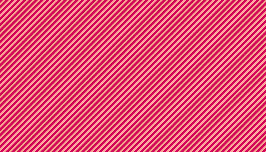 Makower - Sweet Shoppe Too - Candy Stripe  - Ruby - 2/9236E2