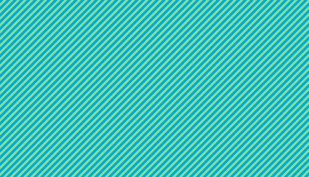 Makower - Sweet Shoppe Too - Candy Stripe - Teal - 2/9236T1