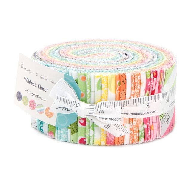 Moda - Sew and Sew - Jelly Roll