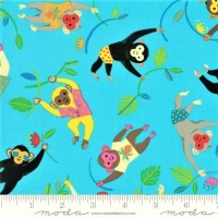 Moda - Bicycle Bunch - Monkeys - 35331 15 (Tropical)