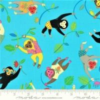 Moda - Bicycle Bunch - Monkeys - 35331 15 (Tropical)