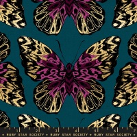 Moda - Tiger Fly (Canvas) - Queen - RS2016 14LM (Teal)