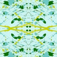 Giucy Giuce - Prism - Splatter - A-9573-T (Light teal)