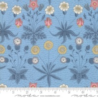 Moda - Best Of Morris Spring - Daisy 1865 to 1875 - 33493 16 (Wedgewood)