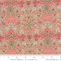 Moda - Best Of Morris Spring - Hyacinth 1900 to 1912 - 33496 11 (Rose)