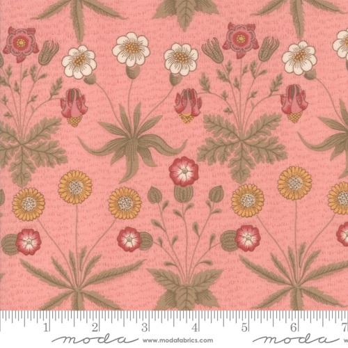 Moda - Best Of Morris Spring - Daisy 1865 to 1875 - 33493 12 (Rose)