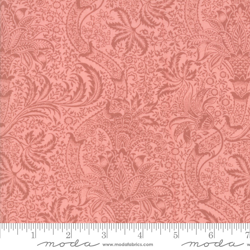 Moda - Best Of Morris Spring - Indian 1868 to 1870 - 33498 12 (Rose)