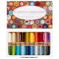 Glorious Handwork by Liza Lucy & Kim McLean - Aurifil Cotton 80wt