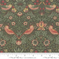 Moda - Best Of Morris Fall - Strawberry Thief 1883 - 33490 19 (Pine)