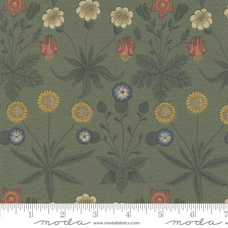 Moda - Best Of Morris Fall - Daisy 1865 to 1875 - 33493 20 (Pine)