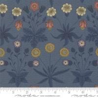 Moda - Best Of Morris Fall - Daisy 1865 to 1875 - 33493 21 (Indigo)