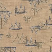 Moda - Ebb & Flow - Ships - No. 1486-14 (Sand)