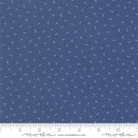 Moda - Indigo Gatherings - Rose Bed No.1297-19 (Admiral Blue)