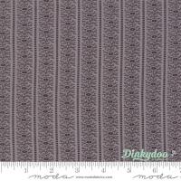 Moda - Urban Farmhouse Gatherings - Leaf Stripe - No. 1287 12 (Galvanised Grey)