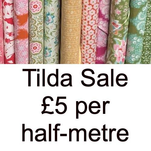 Tilda Sale £5 per half-metre