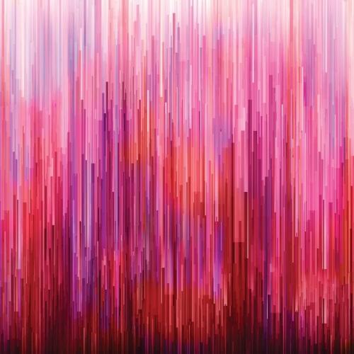 Moda - Gradients - Digital Fragmented Stripe - No. 33362-11 (Pink/Red)