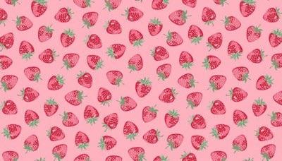 Makower - Strawberry Jam - Strawberry - 2/9365R