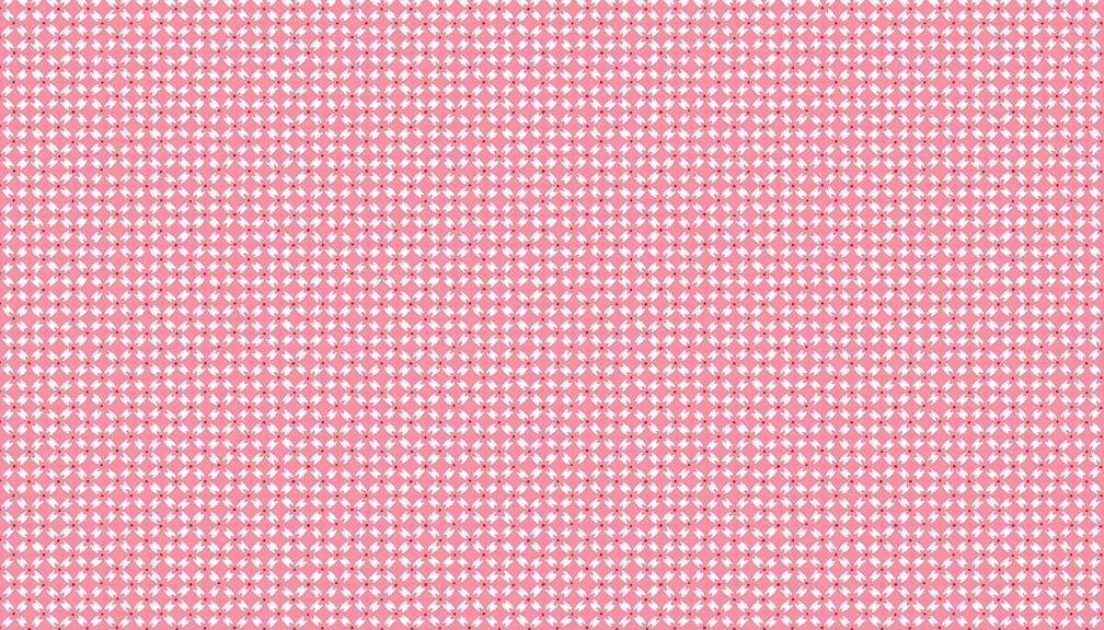 Makower - Strawberry Jam - Dainty Diamonds - 2/9368R