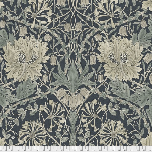 Free Spirit Fabrics - The Original Morris & Co - Pure Honeysuckle and Tulip