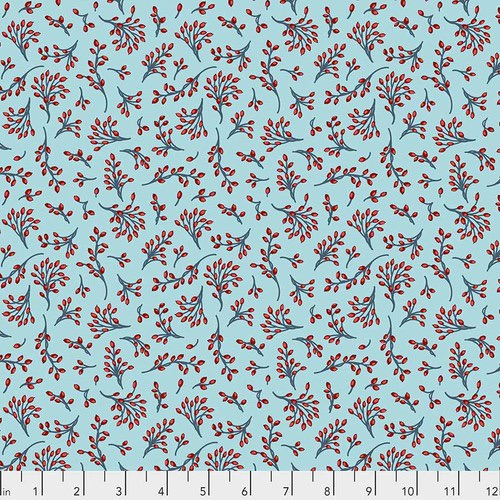 Free Spirit Fabrics - Winter Berries - Frost - PWOB031.FROST