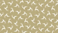 Makower - Scandi - Deer Scatter - Taupe - 1785/Q5
