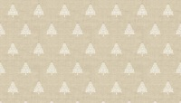 Makower - Scandi - Christmas Trees - Taupe - 1783/Q