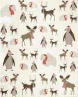 Moda - Merrily - Critters Panel - No. 48211-12