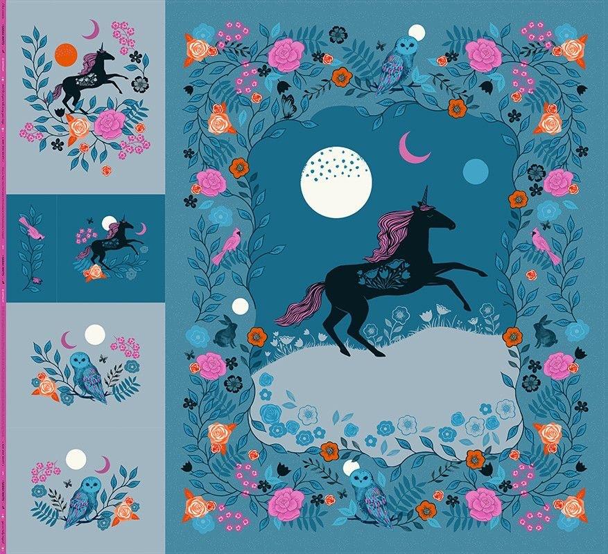 Moda - Magic Unicorn Panel - RS2010P (Sarah Watts)