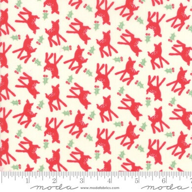 Moda - Deer Christmas - Oh Deer - No. 31164 11 (Peppermint)