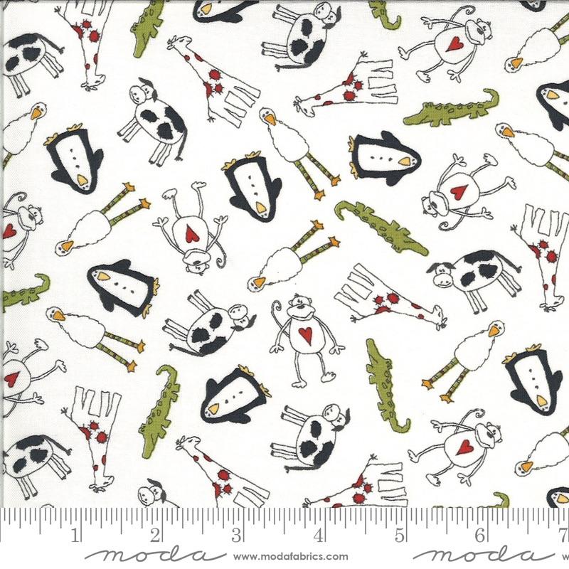 Moda - Animal Crackers - Animals - 5800 15 (Vanilla)