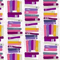 Windham Fabrics - Literary - On the Shelf - 42705-3 (Romance)