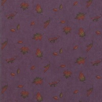 Moda - Country Charm - Northwoods Landscape Falling Leaves - No. 6793 11 (Thistle)