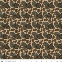 Riley Blake - Menswear - Paisley - C4790 (Tan)